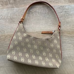 VTG Dooney & Bourke Mini Short Shoulder Handbag